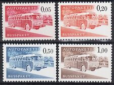 Buses Parcels Auto Carried Finland Post Traffic Complete Mint MNH Stamp Set 1963