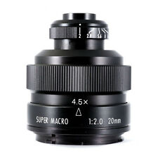 Mitakon Zhongyi 20mm f/2.0 4.5X Super Macro Lens for Canon EOS EF mount 5D IV 7D