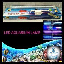 RECENT RCX 50-60CM LED AQUARIUM LAMP SUBMERSIBLE FISH TANK NANO LIGHT BLUE/WHITE