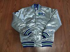 NWT Mitchell & Ness Men's Seattle Seahawks Championship Satin Jacket size Medium