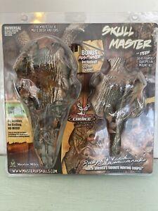 MOUNTAIN MIKES Skull Master Fall Camo Reproduction Skull, Universal Mount