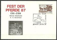 PFERDE-Kutschen/ Österreich MiNr 1713 auf Anlasskuvert mit Sonderstempel