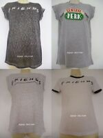 Primark FRIENDS CENTRAL PERK TV SHOW SERIES SITCOM Retro CAP SLEEVE T Shirt Top