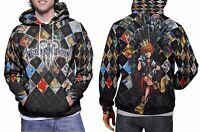 Kingdom Hearts Collection Hoodie Men's Fullprint