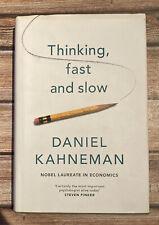 Thinking, Fast And Slow- Daniel Kahneman- Hardback- Good Condition