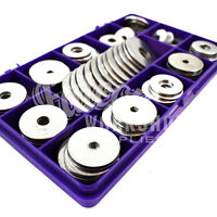 75 ASSORTED PIECE, A2 STAINLESS STEEL PENNY REPAIR WASHERS M4 M5 M6 M8 M10 KIT