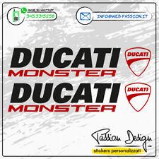 Stickers Adesivi DUCATI MONSTER Bicolor S4R S2R 696 620 695 750 796 821 900 1200