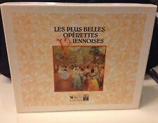 Collection Rare 4 cassettes Musique Les Plus Belles Opérettes Viennoises