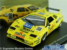 Lamborghini Countach Model Car 1 43 Scale Yellow IXO 1994 Super Sports K8