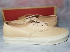 New Vans Authentic DX Veggie Tan Women Size 6 Leather True White Skate Shoe