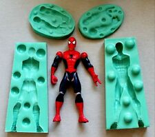 Silicone Mould 3D SPIDER MAN Sugarcraft Cake Decorating Fondant / fimo mold