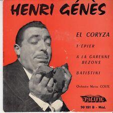 45 T EP HENRI GENES *EL CORYZA*