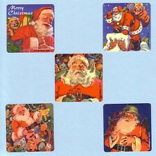 15 Classic Santa - Christmas Holiday Season - Large Stickers - Party Favors