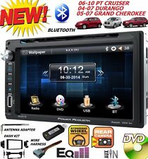 04 05 06 07 08 09 10 PT CRUISER DURANGO GRAND CHEROKEE DVD BLUETOOTH CAR STEREO