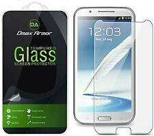 Dmax Armor for Samsung Galaxy Note 2 N7100 Tempered Glass Screen Protector Saver