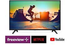 "Philips 55"" Ultra Slim UHD LED LCD Smart TV w/ WiFi, USB PVR, Netflix, Freeview"