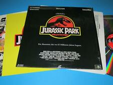 """Jurassic Park von Steven Spielberg - PAL - 12"""" Laserdisc / Laser Disc"""