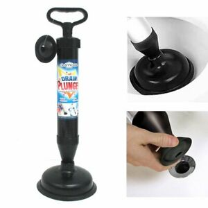 High Pressure Powerful Pump Multi-Drain Plunger Bathroom Kitchen Toilet Shower