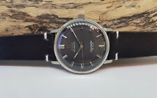 USED VINTAGE OMEGA SEAMASTER  DE VILLE BLACK DIAL AUTOMATIC MAN'S WATCH