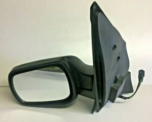 FORD FIESTA WING MIRROR PASSENGER LEFT HAND ELECTRIC 2002-2005 BLACK