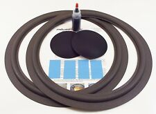 "Onkyo S-55 S-58 15"" Woofer Foam Speaker Repair Kit w/ Shims & Dust Caps!"
