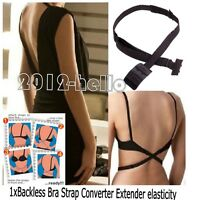Silicone Self Adhesive Stick On Push Up Gel Strapless Invisible Bra Backless UK