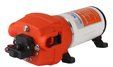 12V WATER PRESSURE DIAPHRAGM PUMP 4.5GPM 17 L/MIN 40 PSI Caravan/RV/Boat/Marine