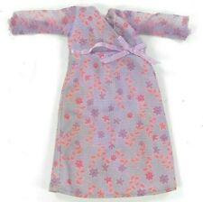 Vintage Mattel Happy Family Midge Purple Floral Maternity Dress Tagged 2002