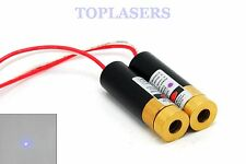 2pcs Industrial 405nm 20mw Purple/Violet Blue Laser DOT Module 13x42mm 3V-6V