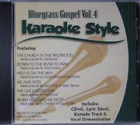 Bluegrass Gospel Volume 4 Christian Karaoke Style NEW CD+G Daywind 6 Songs