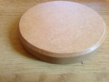 Unfinished MDF Wooden Display Base - CIRCLE BASE SIZE 5 INCH DIAMETER