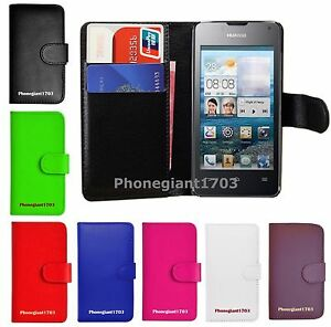 Book Wallet Flip Leather Case Cover For Various ZTE Blade Phones