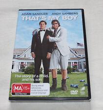 That's My Boy (DVD, 2012) New Sealed