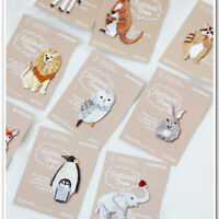 Cute Animal Printed Iron Patch Fabric Subsidies Decoration Clothes Appliques DIY