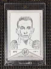"""2019 Topps UFC/Museum ~ TONY FERGUSON (#1/1) """"CANVAS COLLECTION"""" SKECTH CARD!!!!"""
