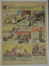 PRINCE VALIANT Full Color SUNDAY PAGE King Features Hal Foster 3/16/1941, #214