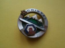 médaille de ski Flocon CRISTAL FFES ....EXCELLENT ETAT