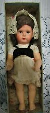 Pretty Antique Composition Toddler Doll -Marked Germany