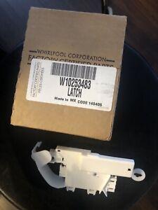 Brand New OEM Door Lock Switch Whirlpool Maytag Washer Wpw10253483  / W10253483