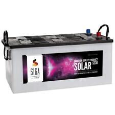 Solarbatterie 12V 230AH trocken vorgeladen Versorgungsbatterie Batterie 220Ah