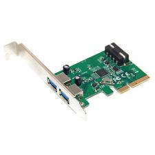 2Port 10Gb / S USB3.1 Tipo-A Connettore Scheda PCI Express PCIE 4X Per PC