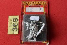 Games Workshop Warhammer Beastmen Khazrak the One Eye BNIB New Metal Lord OOP