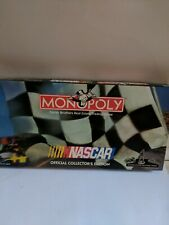 Monopoly Nascar Board Game Parker Brothers