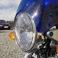 Suzuki GSX1400 Light Smoked Headlight Protector Cover