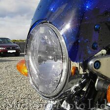Suzuki GSX1400 Light Smoked Headlight Protector Cover