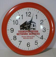 """TRANSPORTATION NETWORK SERVICES 12"""" QUARTZ MOVEMENT WALL CLOCK"""