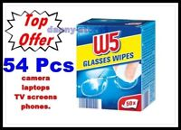 Cleaning Wet Wipes for Glasses, Tablet,Sunglasses W5 54 pcs.