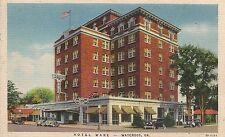 Hotel Ware in Waycross GA Postcard 1933
