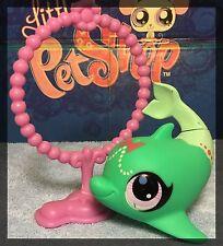 Littlest Pet Shop #3060 Teal Green Dolphin