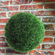 28cm Artificial Topiary Balls Outdoor Hanging Basket Plants Garden Wedding Decor
